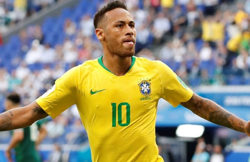 Russia 2018: Brazil brush off sorry Mexico to progress