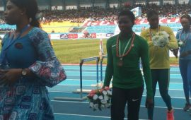 Asaba 2018: Yinka Ajayi wins bronze in the 400m