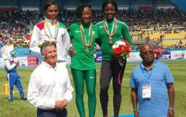 Asaba 2018: Simbine, Ta Lou clinch Gold in the 100m