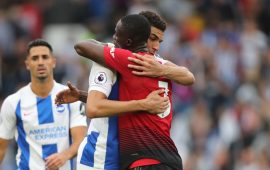 Premier League: Eric Bailly congratulates Leon Balogun