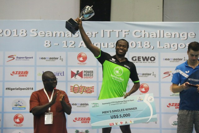Aruna Quadri maintains top spot in Africa