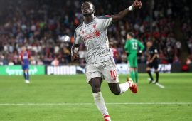 PL: Mane strikes again as Liverpool beat 10-man Palace