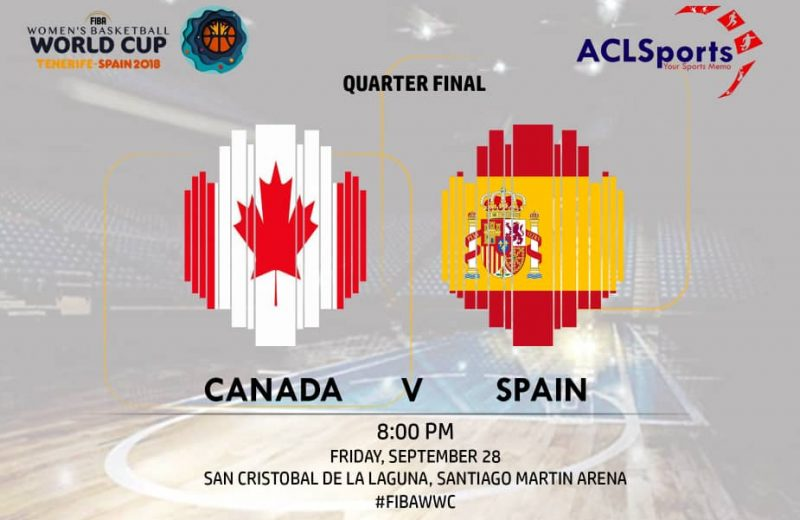 2018 FIBAWWC Preview: Canada vs Eurobasket champions Spain