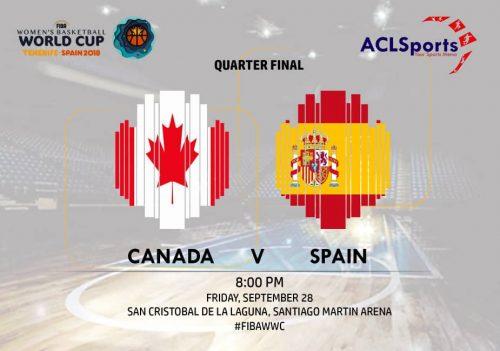 2018 FIBAWWC Preview: Canada vs Eurobasket champions Spain