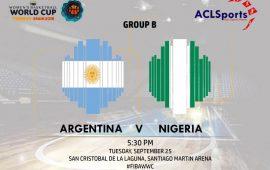 FIBAWWC Preview (Africa Focus): Nigeria Vs Argentina