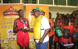 Bote and Adenike bag $45,000 scholarship at Olumide Oyedeji camp