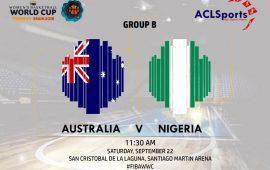 2018 FIBAWWC Star Game Focus: Nigeria Vs Australia