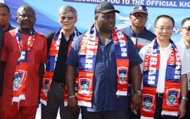 "Ifeanyi Ubah flags off ""1 Family, 1 Footballer"" project in Nigeria"