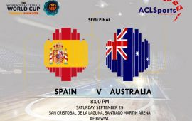2018 FIBAWWC semi-final: Hosts Spain v Australia and Liz Cambage