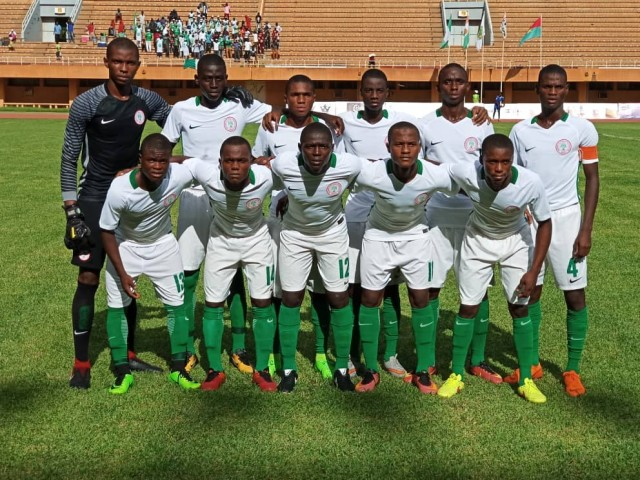 U17 AFCON: Eaglets stunned by Burkina Faso