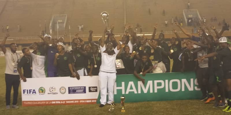 Golden Eaglets beat Ghana to win Under 17 qualifying tourney