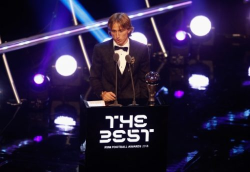 FIFA Awards: Luka Modric emerges THE BEST