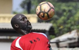 Eagles edge George Weah's Liberia in Exhibition game