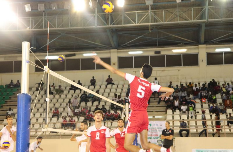 Volleyball: Egypt and Tunisia book world c/ships tickets
