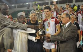 Tunisia volleyball team win African U21 championships in Abuja