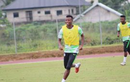 Abdullahi Shehu welcomes competition in Super Eagles