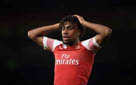 EPL: Iwobi stars as Arsenal brush aside Leicester City