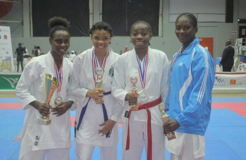 Karate: Four NYG champions shine at Zainab Saleh C/Ships