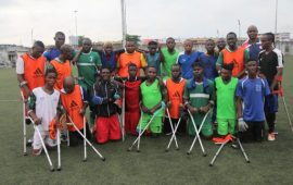 Nigeria Amputee Football team calls for World Cup support