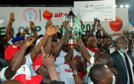 "AITEO Cup final: Ogunbote hails substitutes for ""rescue mission"""