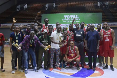 Basketball: CAMAC lift Total National Division 2 League
