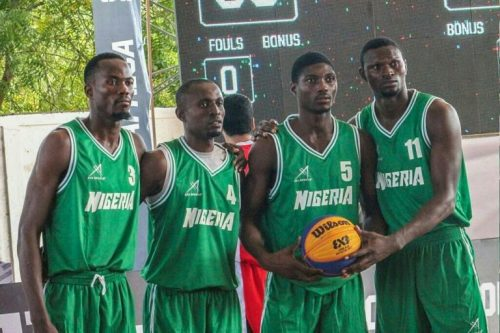 Nigeria 3×3 teams in Lomé for 2018 FIBA 3×3 Africa Cup
