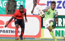 International friendly: Uganda hold Eagles in Asaba