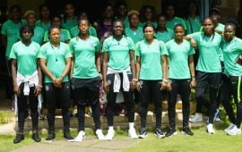 AWCON18: The African Champions arrive Cape Coast