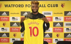 Premier League: Isaac Success commits future to Watford