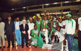Nigeria Customs are volleyball premier league champions