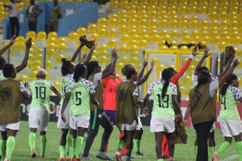 AWCON 2018: Falcons overcome Cameroon to qualify for World Cup