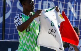 Beach Soccer: Abu Azeez becomes centurion as Nigeria reach World Cup