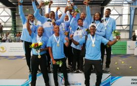 Botswana boys capture gold at AUSC Volleyball event