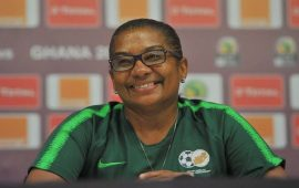 AWCON 2018: Ellis proud of Banyana Banyana team