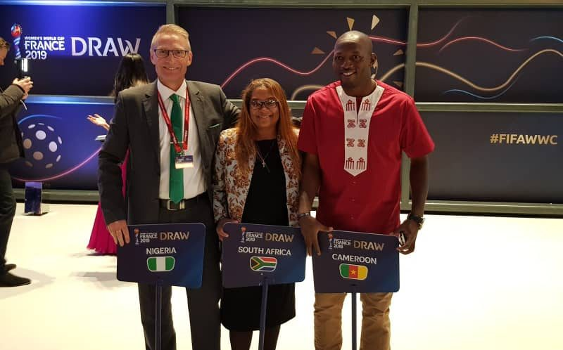 France 2019 draw and the African representatives