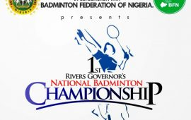 Ist Rivers Gov's National Badminton Championship begins