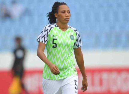 Super Falcons defender Ebi