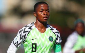 Football: Rasheedat Ajibade grateful for fantastic year
