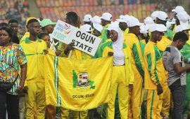 NSF: Team Ogun escape robbery attack, bus on fire