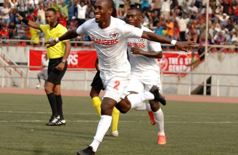 CAFCC: Aguda scores again as Rangers advance to group stage