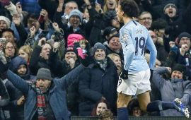 PL: Guardiola happy as City end Liverpool's unbeaten run