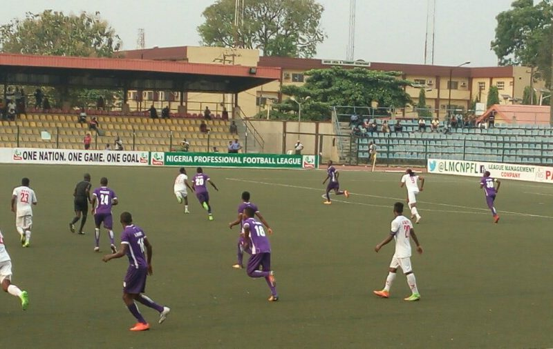 Adeniji on target again as MFM down 10-man Rangers