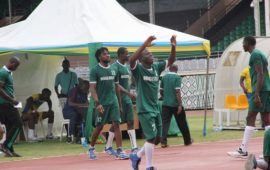 Nigeria junior male team now 38th in the world, 4th in Africa