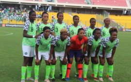 Super Falcons fall to China in four-nation tourney