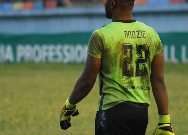 NPFL: Ifeanyiubah goalkeeper Anozie rallies fans