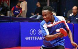 T/Tennis: ASD Tennistavolo's Tobi Falana for ITTF Portugal Open