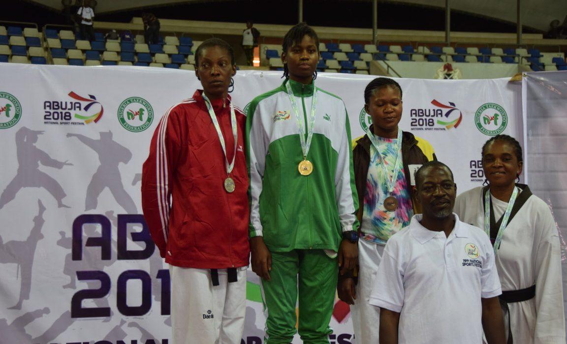 Taekwondo: Anyanacho not scared by experienced athletes