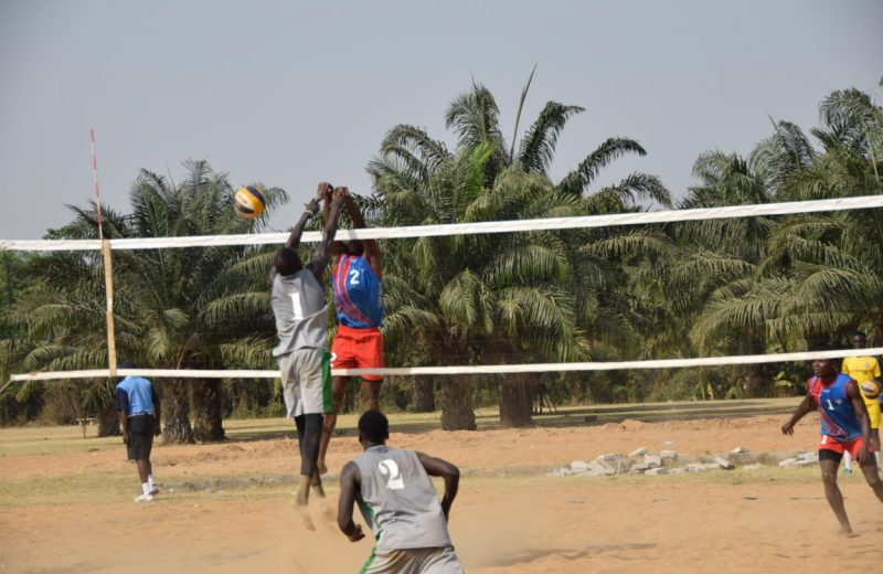 Team Nigeria in Ghana for CAVB U21 Beach Cup Qualifiers