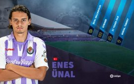LaLiga Rising Star: Real Valladolid's Enes Unal building on early success