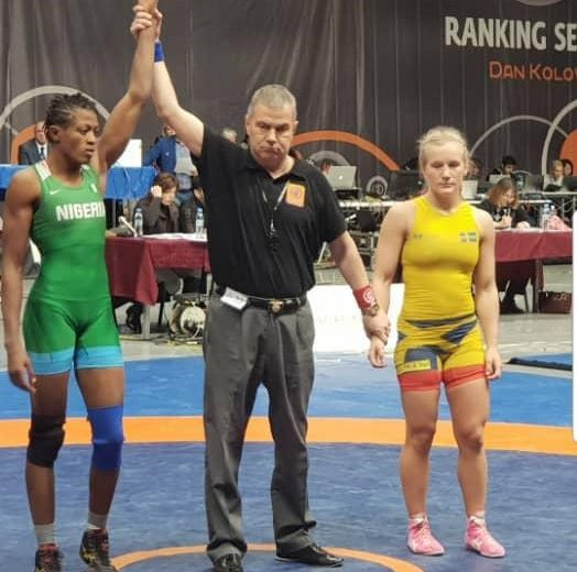 Adekuoroye clinches Bronze medal in Bulgaria Ranking Event
